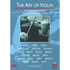 L'Art du violon - DVD(pas de partitions)