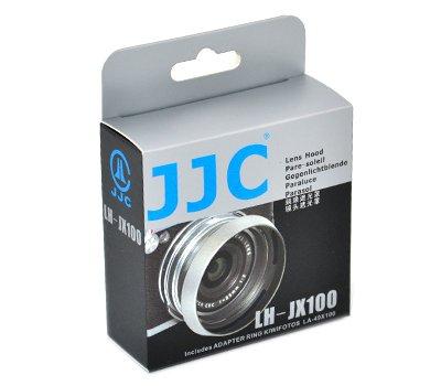 JJC製 金属製優良品質 富士フィルムFUJIFILM FinePix X100 専用 レンズフード LH-X100 互換品