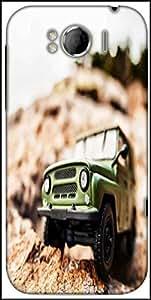 Snoogg 4X4 Offroad Car Designer Protective Back Case Cover For HTC Sensation Xl
