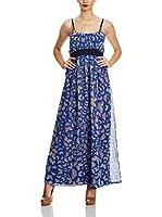 Uttam Boutique Vestido Largo (Azul)