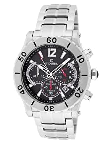 Le Chateau Men's 5437m_blk Sport Dinamica Chronograph Stainless Steel Watch