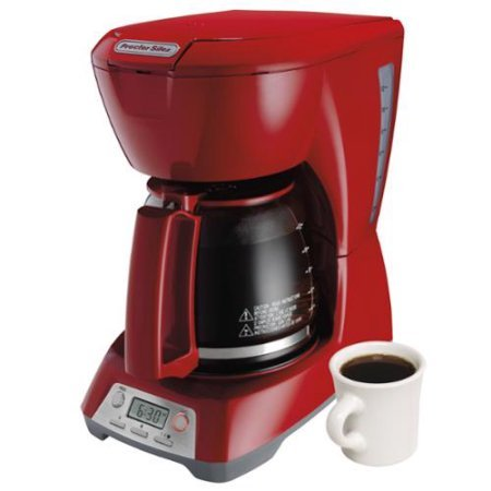 Programmable 12-Cup Coffeemaker by Hamilton Beach, 43673, Red (Milton Carafe compare prices)
