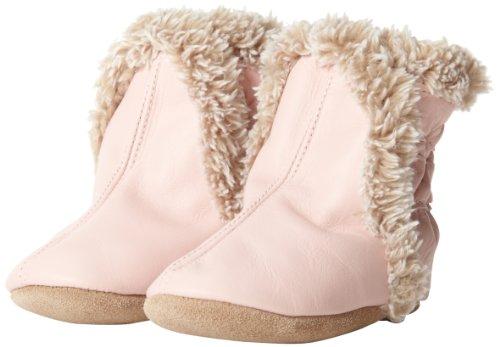Robeez Classic Crib Shoe (Infant/Toddler),Pink,6-12 Months M Us Infant