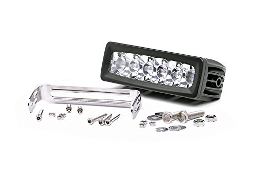 Rough Country 70906 - 6-Inch Adjustable Base Mount Cree Led Light Bar For Anywhere You Can Mount It