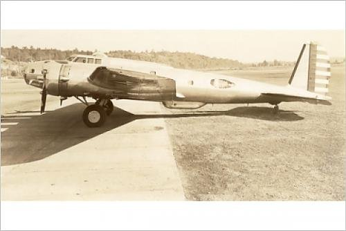 Photographic Print of Boeing B-17C Flying Fortress