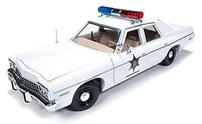 auto world 1/18 Dodge Monaco 1975 Police The Dukes of Hazzard