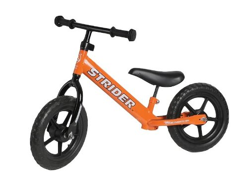 Strider PREbike Balance Running Bike, Orange