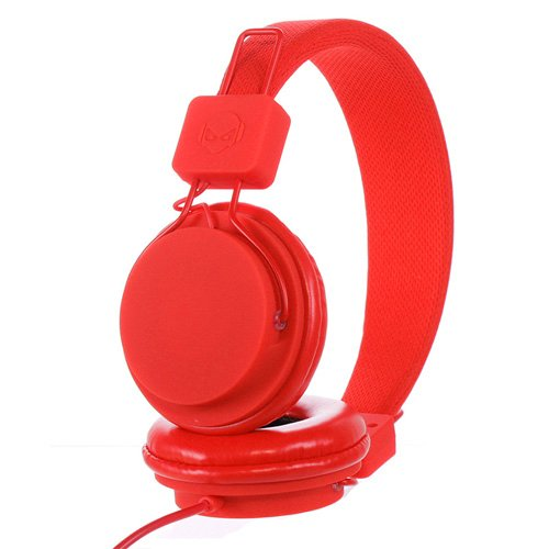 Subjekt Tnt-Qm1252 Tnt Headphones With Microphone - Retail Packaging - Red
