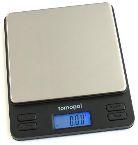 Balance de cuisine multifonctionnelle digitale, plateau inox, haute précision 200g x 0.01g