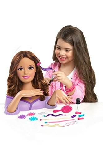 Barbie Color, Cut and Styling Brunette Styling Head