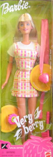 Very Berry BARBIE Doll KMart Special Edition w Necklace & Ring For YOU (1999)