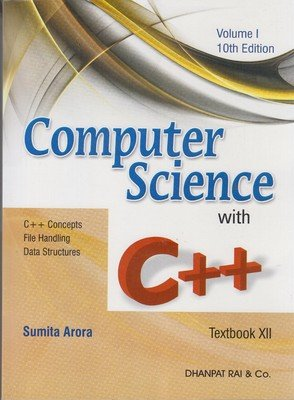 Computer Science with C++ for Class 12 (Set of 2 Volumes)