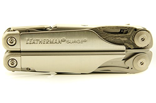 "TxTC Custom Tools - Surge Multi-Tool, ""Samurai Edition"" with Damascus Steel Blade"