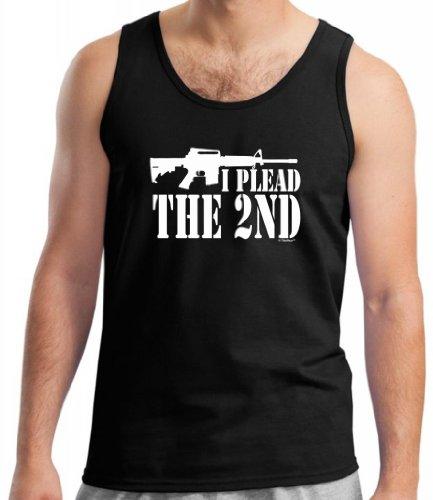 I Plead The 2Nd Tank Top Small Black