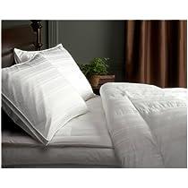 Pinzon Signature Pyrenees Hypoallergenic Medium Warmth White Goose Down Twin Comforter