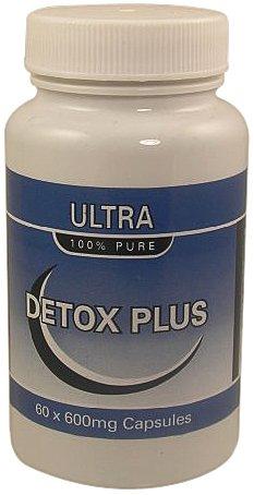 Ultra Detox Plus 600mg Colon Cleanse x 60 Capsules