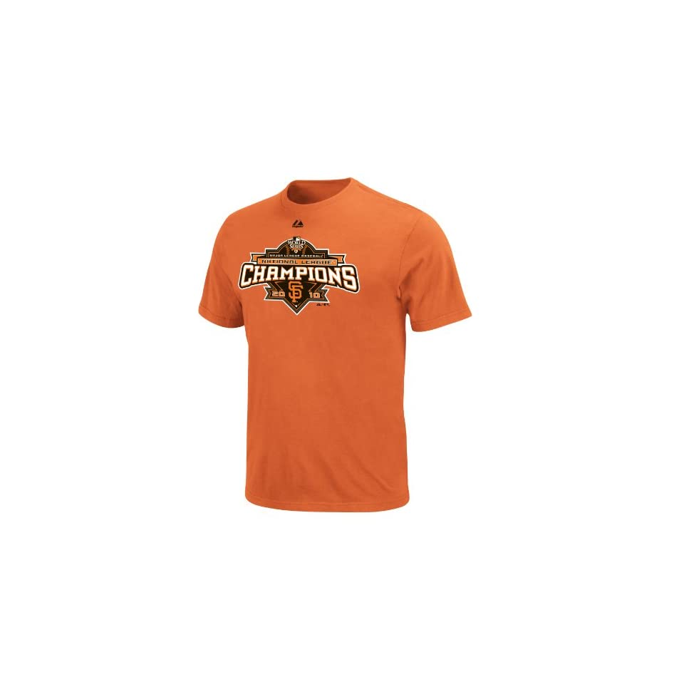 MLB San Francisco Giants 2010 National League Champions Roster T Shirt