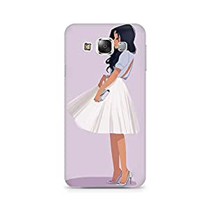 Mobicture Girl Abstract Premium Designer Mobile Back Case Cover For Samsung Grand 3 G7200