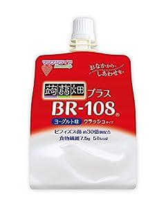 マンナンライフ クラッシュタイプの蒟蒻畑ライトBR108ヨーグルト味150g×6個