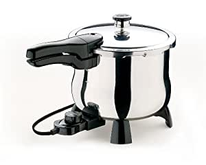 Presto 02160 6-Quart Electric Stainless-Steel Pressure Cooker