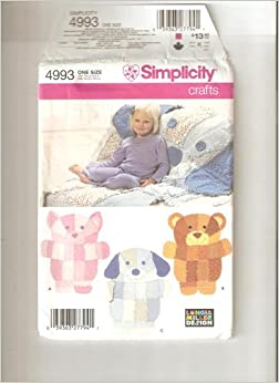 Simplicity pattern 4993 crafts books for Simplicity craft pattern 4993