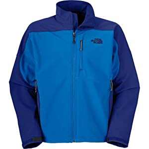The North Face Apex Bionic Jacket - Men's Jake Blue/Bolt Blue Medium from The North Face