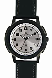 Maxima Analog Silver Dial Mens Watch - E-22572Lmgb