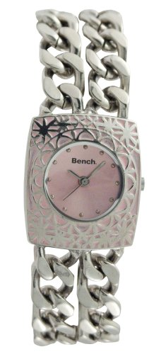 Bench Pink Dial Ladies Bracelet Watch - BC0037BK