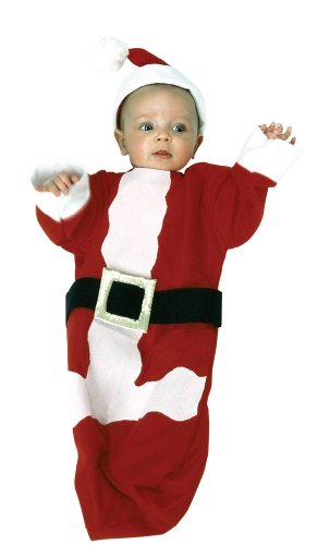 Baby Santa Clause Bunting Christmas Costume