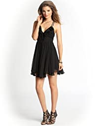 GUESS Women's Julia Sleeveless Ruffle Dress