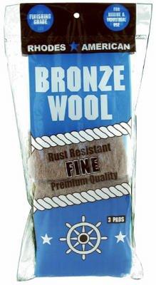 Homax Jasco Bix 123100 Bronze Wool 3 Pads front-629125