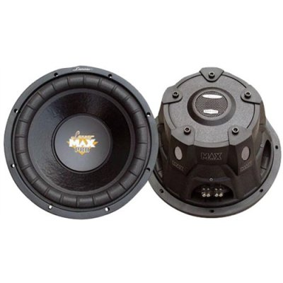 Lanzar Maxp64 6.5 600W 4 Ohm Car Audio Subwoofer Woofer 600 Watt 6 1/2