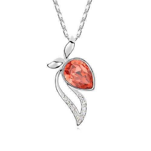 Boxingcat Fine Jewelry Swarovski Style Clear Austrian Crystal Pendant Necklaces Bgca9397 front-886269