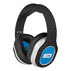 Altec Lansing MZX656-BLUE Foldable Headphones (Blue)