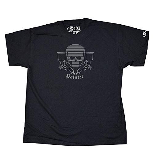 spray-painter-sprayer-t-shirt-m-black-grey-logo