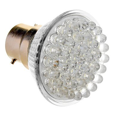 M.M B22 2W 38-Led 120-155Lm 6000-6500K Natural White Light Led Spot Bulb (230V)
