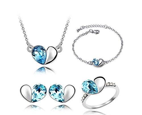 mas-querida-corazon-four-piece-suit-girl-mujeres-rhinestone-crystal-collar-pendientes-joyeria-set