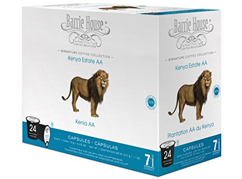 Barrie House Kenya Estate - AA Single Cup Capsule (48 Capsules) (Kenya Aa Keurig compare prices)