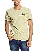Spaio Camiseta Manga Corta (Amarillo)