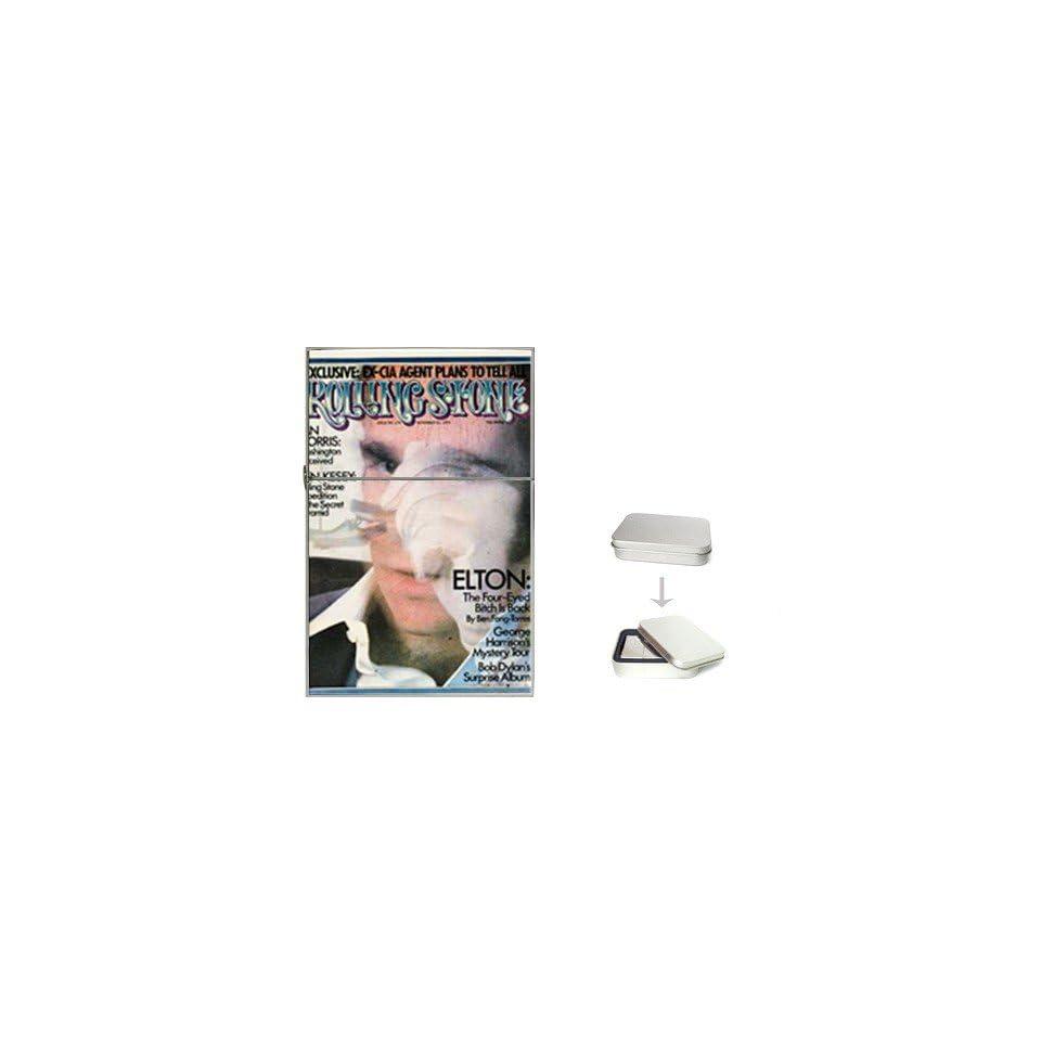 Elton John Rolling Stone Cover Flip Top Lighter