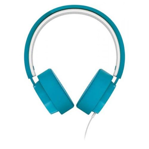 Philips Citiscape Metro Shibuya Shl5205Bl On-Ear Headphones Stereo Headset With In-Line Microphone (Blue Shl5200 + Mic)