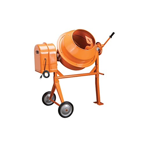 1/3 Hp Electric Cement Mixer 3.5 Cubic Ft; 10.7 Amps, 36 RPM by Generic Import