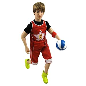 Amazon.com: Justin Bieber Real Hairstyle Doll - Basketball Outfit