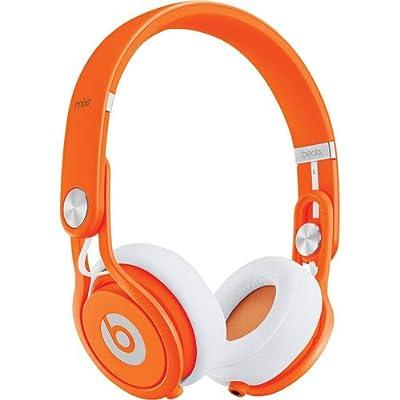 Beats by Dr. Dre Mixr Deep Bass Response Lightweight DJ Over-ear Headphones (Orange)