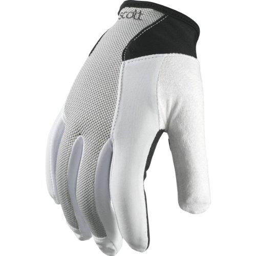 Scott Essential Damen Fahrrad Handschuhe lang grau/weiß 2014: Größe: M (8)