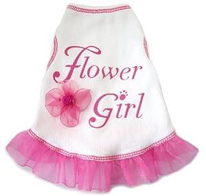 Flower Girl Dog Dress, Small