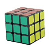 Magic Speed Cube Puzzle 3x3x3 Stickerless 5.5cm Colorful Learning Educational Cubo Magico Christmas Toys