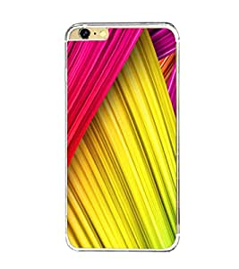 Printvisa Multicoloured Curtains Pattern Back Case Cover for Apple iPhone 6::Apple iPhone 6S