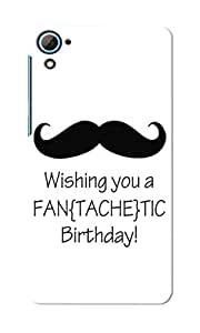 CimaCase Birthday Wish Designer 3D Printed Case Cover For HTC Desire 826