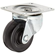 RWM Casters Swivel Plate Caster with Plain Bearing 200 lbs Load Capacity
